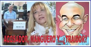 ACOSADOR, MANGUERO Y…¿TRAIDOR?