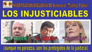 LOS INJUSTICIABLES