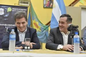 RITONDO Y FINOCCHIARO PARTICIPARON DE UN TALLER DE PREVENCIÓN DE DELITOS PARA ADULTOS MAYORES EN LA MATANZA