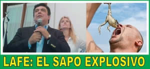 LAFE : UN SAPO EXPLOSIVO