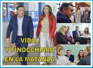 VIDAL, FINOCCHIARO Y SÁNCHEZ ZINNY VISITARON LA ESCUELA 5000 CONECTADA EN LA MATANZA