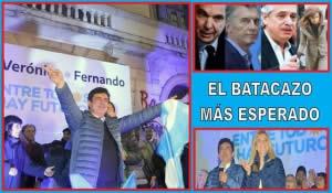 EL BATACAZO MÁS ESPERADO