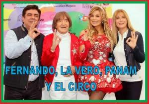 FERNANDO, LA VERO, PANAM Y EL CIRCO