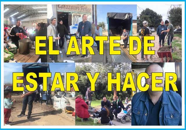 EL ARTE DE ESTAR Y HACER