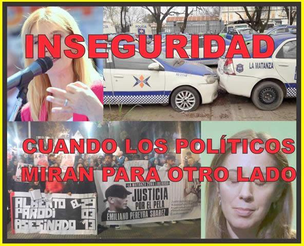 INSEGURIDAD: CUANDO LOS POLÍTICOS MIRAN PARA OTRO LADO