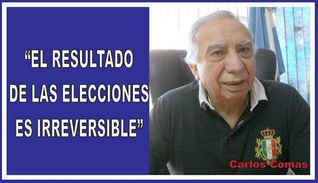 """""""EL RESULTADO DE LAS ELECCIONES ES IRREVERSIBLE"""""""