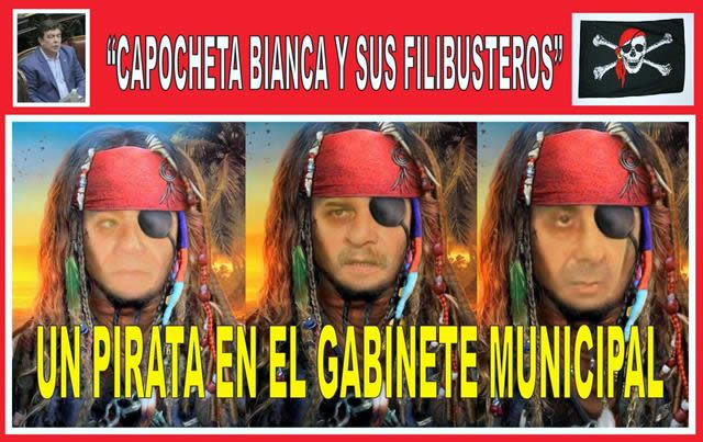 UN PIRATA EN EL GABINETE MUNICIPAL