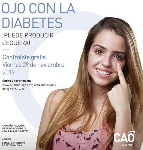 CAMPAÑA NACIONAL DE PREVENCIÓN DE CEGUERA POR DIABETES