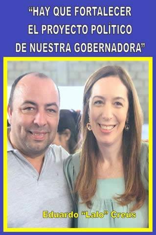 """""""HAY QUE FORTALECER EL PROYECTO POLÍTICO DE NUESTRA GOBERNADORA"""""""