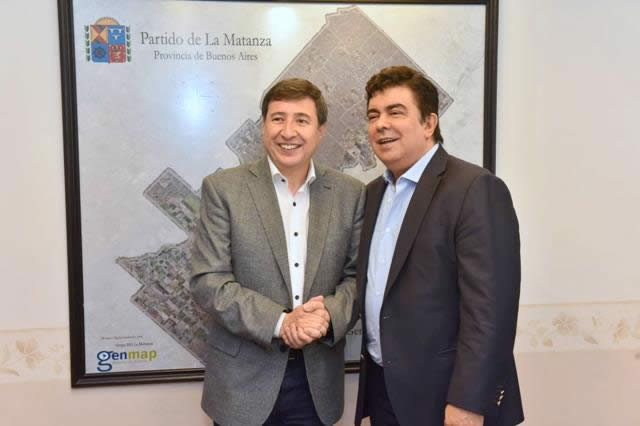 EN LA MATANZA, FERNANDO ESPINOZA Y DANIEL ARROYO DELINEARON MEDIDAS FRENTE A LA EMERGENCIA SOCIAL Y ECONÓMICA