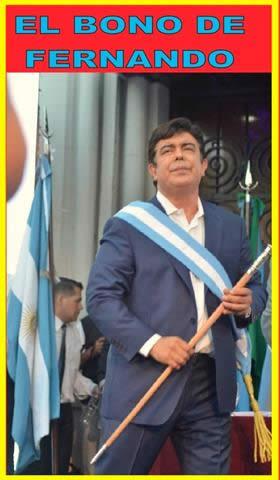 FERNANDO ESPINOZA ANUNCIÓ QUE LOS EMPLEADOS MUNICIPALES COBRARÁN $12.750 COMO INGRESO ESPECIAL EN DICIEMBRE PERO…LA GUITA NO APARECE