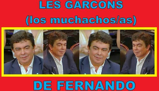 """""""LES GARÇONS (muchachos/as)"""" DE FERNANDO"""