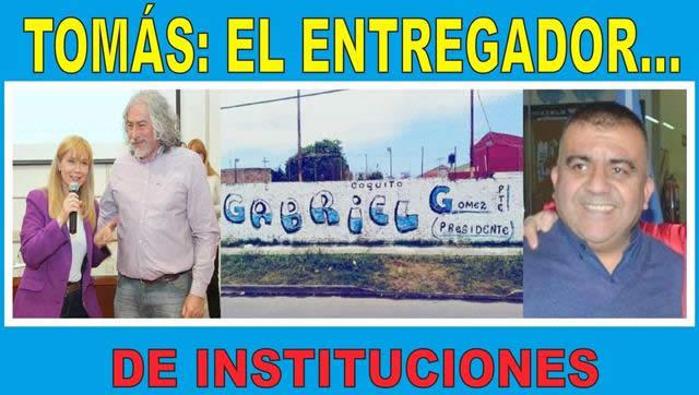 """""""TOMÁS EL ENTREGADOR DE INSTITUCIONES"""""""