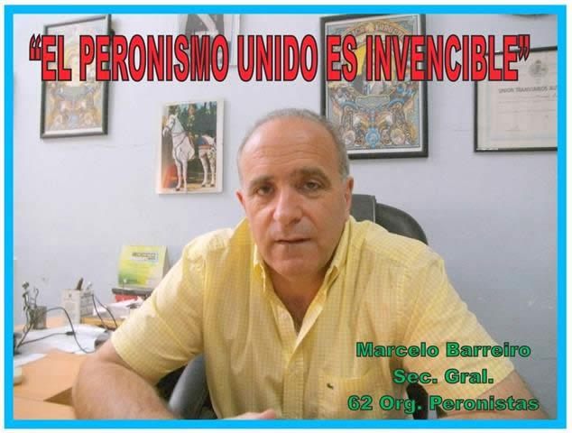 """""""EL PERONISMO UNIDO ES INVENCIBLE"""""""