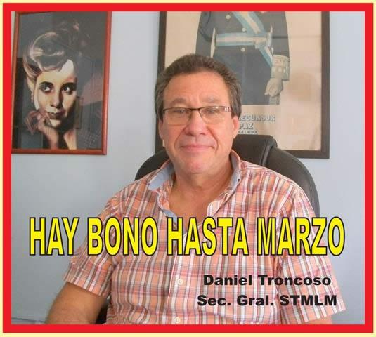 HAY BONO HASTA MARZO