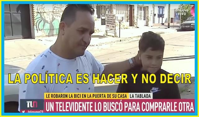 """""""POLÍTICA ES HACER Y NO DECIR"""""""