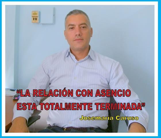 """""""LA RELACIÓN CON ASENCIO ESTÁ TOTALMENTE TERMINADA"""""""