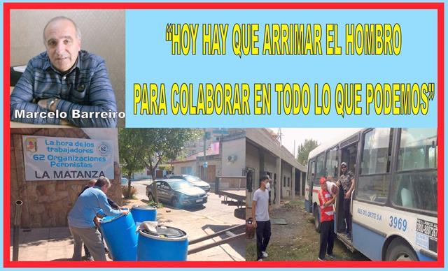 """""""HOY HAY QUE ARRIMAR EL HOMBRO PARA COLABORAR EN TODO LO QUE PODAMOS"""""""