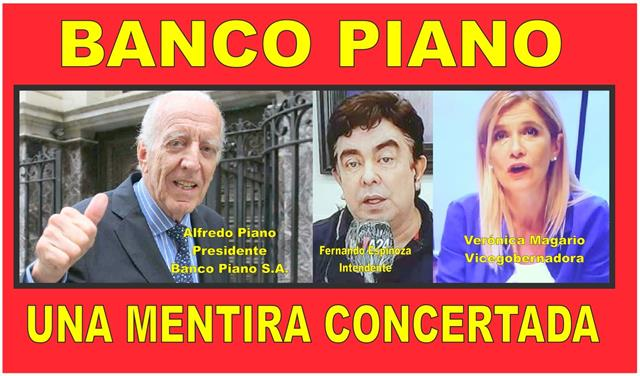 BANCO PIANO: UNA MENTIRA CONCERTADA