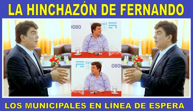 LA HINCHAZÓN DE FERNANDO