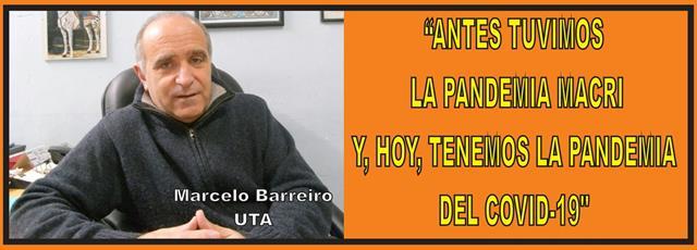 """""""ANTES TUVIMOS LA PANDEMIA MACRI, Y HOY TENEMOS LA PANDEMIA DEL COVID 19"""""""