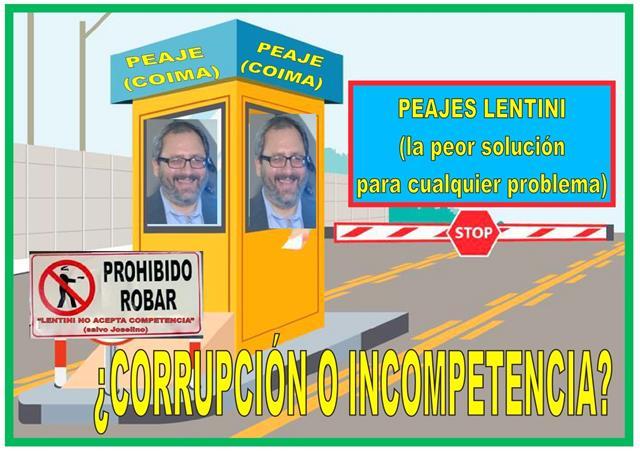 LENTINI: ¿CORRUPCIÓN O INCOMPETENCIA?