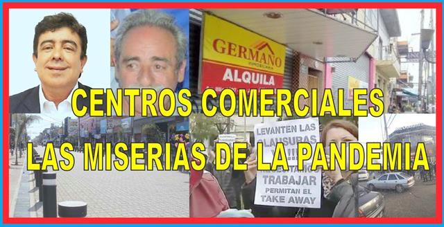 CENTROS COMERCIALES: LAS MISERIAS DE LA PANDEMIA