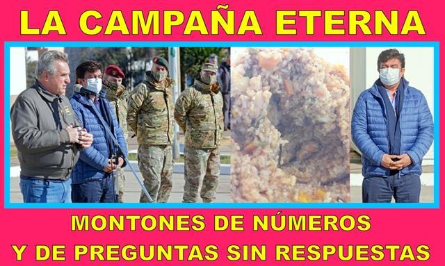 LA CAMPAÑA ETERNA, MONTONES DE NÚMEROS Y DE PREGUNTAS SIN RESPUESTAS