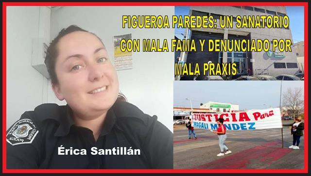 FIGUEROA PAREDES: UN SANATORIO CON MALA FAMA y DENUNCIADO POR MALA PRAXIS
