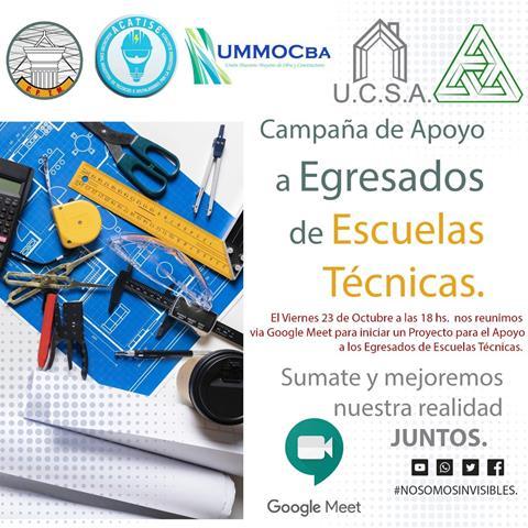 """""""ENCUENTRO DE APOYO A EGRESADOS DE ESCUELAS TÉCNICAS"""""""