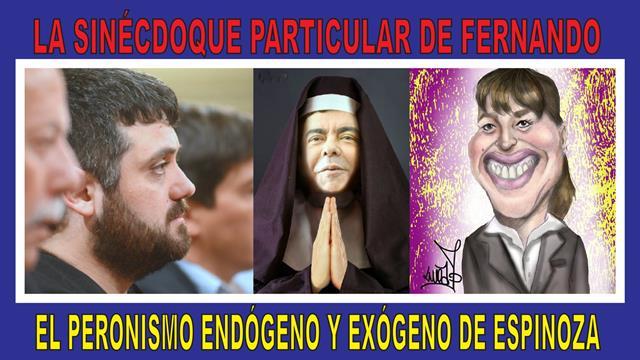 LA SINÉCDOQUE PARTICULAR DE FERNANDO