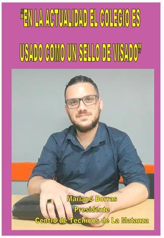 """""""EN LA ACTUALIDAD EL COLEGIO ES USADO COMO UN SELLO DE VISADO"""""""