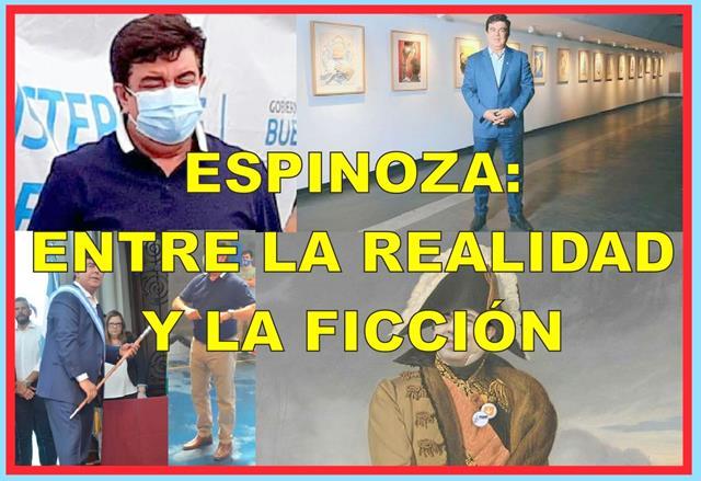 ESPINOZA: ENTRE LA REALIDAD Y LA FICCIÓN