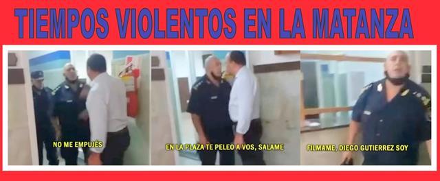 TIEMPOS VIOLENTOS EN LA MATANZA