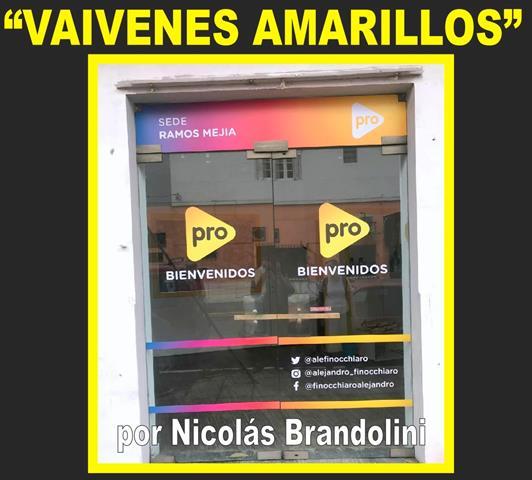 VAIVENES AMARILLOS
