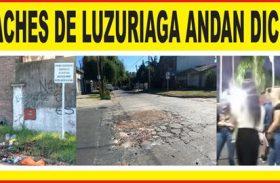 LOS BACHES DE LUZURIAGA ANDAN DICIENDO