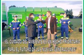 """""""EL CUIDADO DEL AMBIENTE ES UN HECHO PRIORITARIO PARA EL FUTURO DE LAS NUEVAS GENERACIONES"""""""