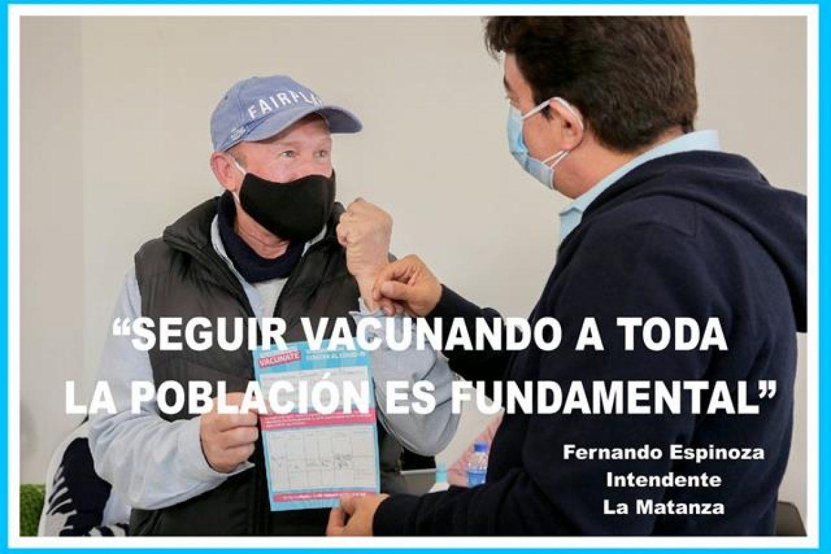 """""""LA ARGENTINA LLEGA A LOS 15 MILLONES DE VACUNAS. SEGUIR VACUNANDO A TODA LA POBLACIÓN ES FUNDAMENTAL"""""""
