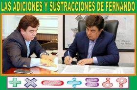 LAS ADICIONES Y SUSTRACCIONES DE FERNANDO