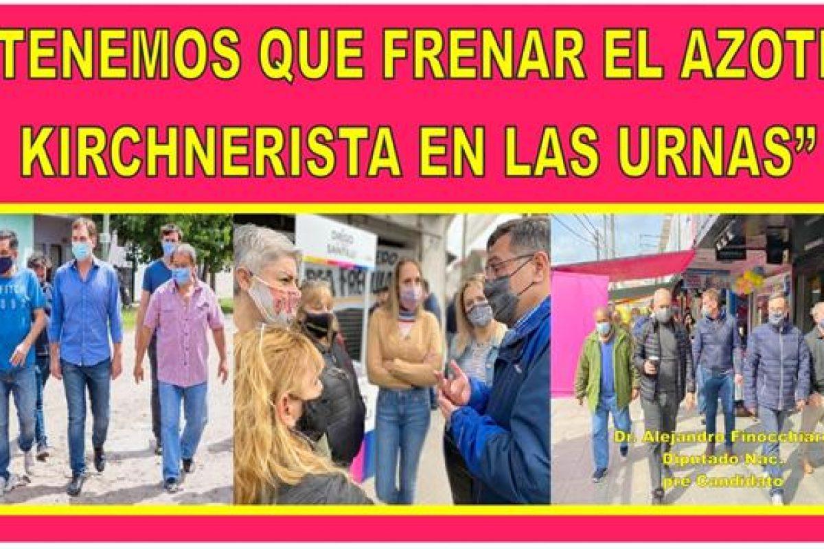 """""""TENEMOS QUE FRENAR EL AZOTE KIRCHNERISTA EN LAS URNAS"""""""