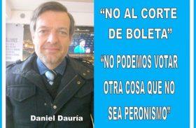 """""""NO AL CORTE DE BOLETA – NO PODEMOS VOTAR OTRA COSA QUE NO SEA PERONISMO"""""""