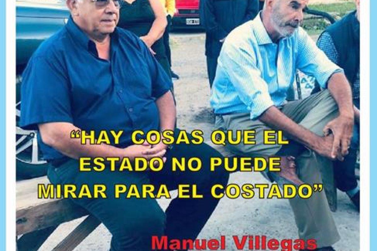 """""""HAY COSAS CON LAS QUE EL ESTADO NO PUEDE MIRAR PARA EL COSTADO"""""""