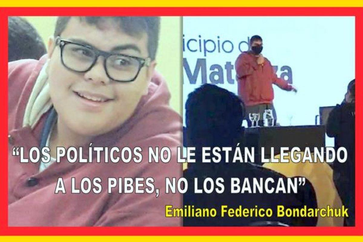 """""""LOS POLÍTICOS NO LES ESTÁN LLEGANDO A LOS PIBES, NO LOS BANCAN"""""""