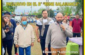 """INAUGURARON UN ESPACIO RECREATIVO E INCLUSIVO EN EL BARRIO RENÉ SALAMANCA"""